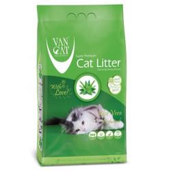 VanCat - Vancat Aloe Veralı İnce Taneli Topaklanan Kedi Kumu 10 KG