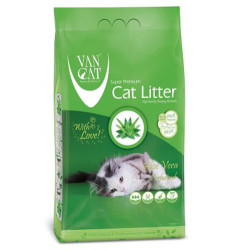 VanCat - Vancat Aloe Veralı İnce Taneli Topaklanan Kedi Kumu 5 KG