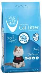 VanCat - Vancat Fresh Kokulu İnce Taneli Topaklanan Kedi Kumu 5 KG