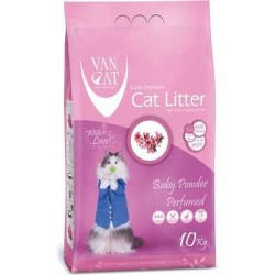 VanCat - VanCat Parfümlü İnce Taneli Kedi Kumu 10 KG