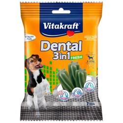Vitakraft - Vitakraft 3 in 1 Naneli Köpek Diş Bakımı Ödülü S 120 GR 7 Li