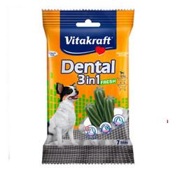 Vitakraft - Vitakraft 3 in 1 Naneli Köpek Diş Bakımı Ödülü XS 70 GR 7 Li