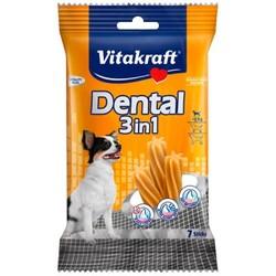Vitakraft - Vitakraft 3 in 1 Naneli ve Çinkolu Köpek Diş Bakımı Ödülü XS 70 GR 7 li