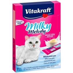 Vitakraft - Vitakraft Saf Sütlü Sıvı Kedi Ödülü 70 GR
