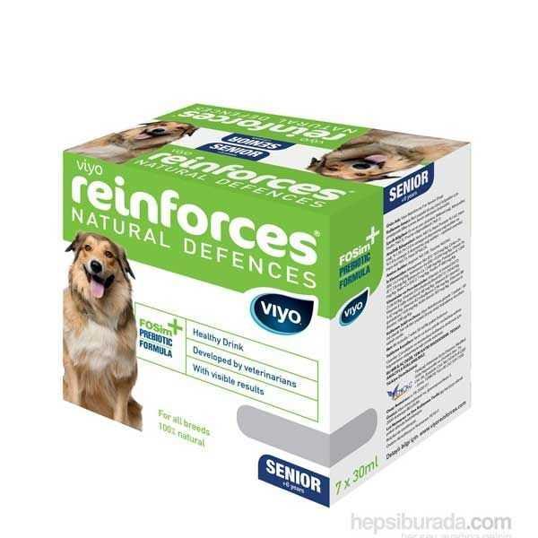 Viyo Reinforces Senior Dog Yaşlı Köpek Ek Besin Tavsiyesi 7*30 ML
