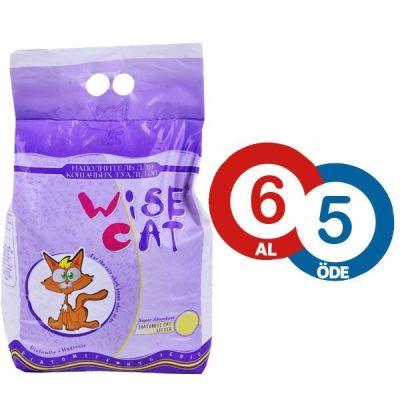 Wise Cat Beyaz Diatomit Kedi Kumu 7 lt ( 6 AL 5 ÖDE )