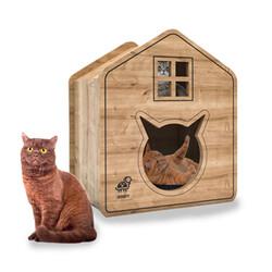 Woofy Catsy 17-A Kedi Evi - Thumbnail
