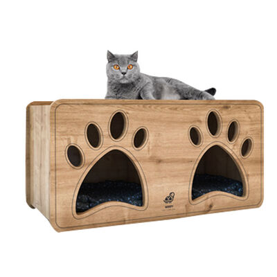 Woofy Catsy 18-A Kedi Evi