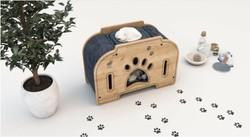 Woofy - Woofy Catsy 8-A Kedi Evi