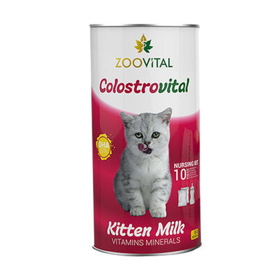 Zoovital Colostrovital Yavru Kedi Süt Tozu 200 GR