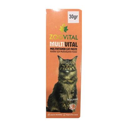Zoovital Multivital Cat 13 Kedi Vitamin Malt 30 gr