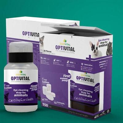 Zoovital Optivital Göz Solüsyonu 150 ML